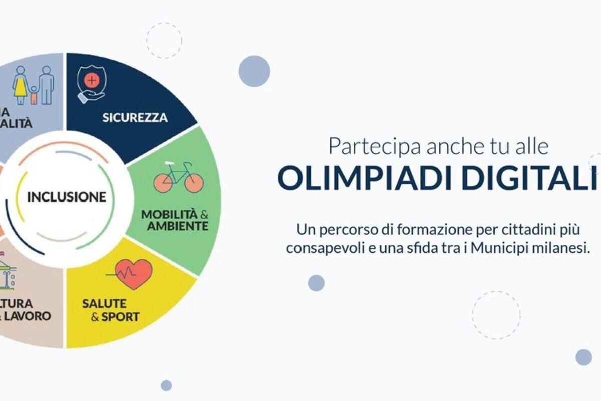 1,2, alVIA le olimpiadi digitali